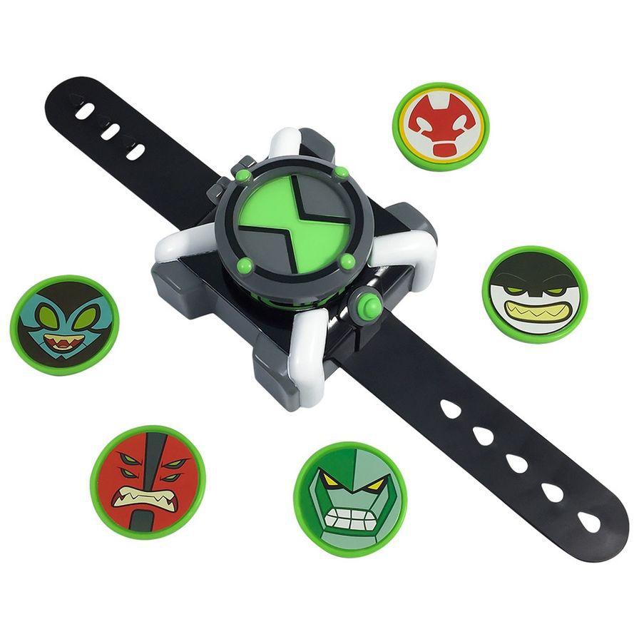 Ben 10 - Relógio Omnitrix Lançador de Discos - Sunny Original