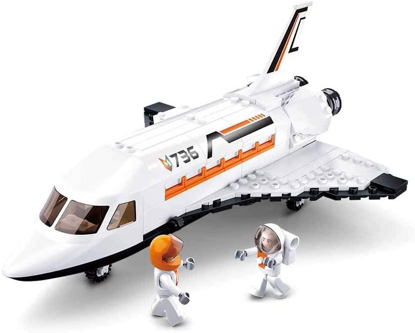 Blocos de Montar Ônibus Espacial 231 Peças - Multikids