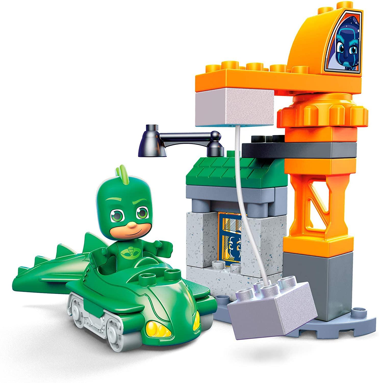 PJ Heróis de Pijama - Lagartixo Vs Ninja Noturno Mega Bloks