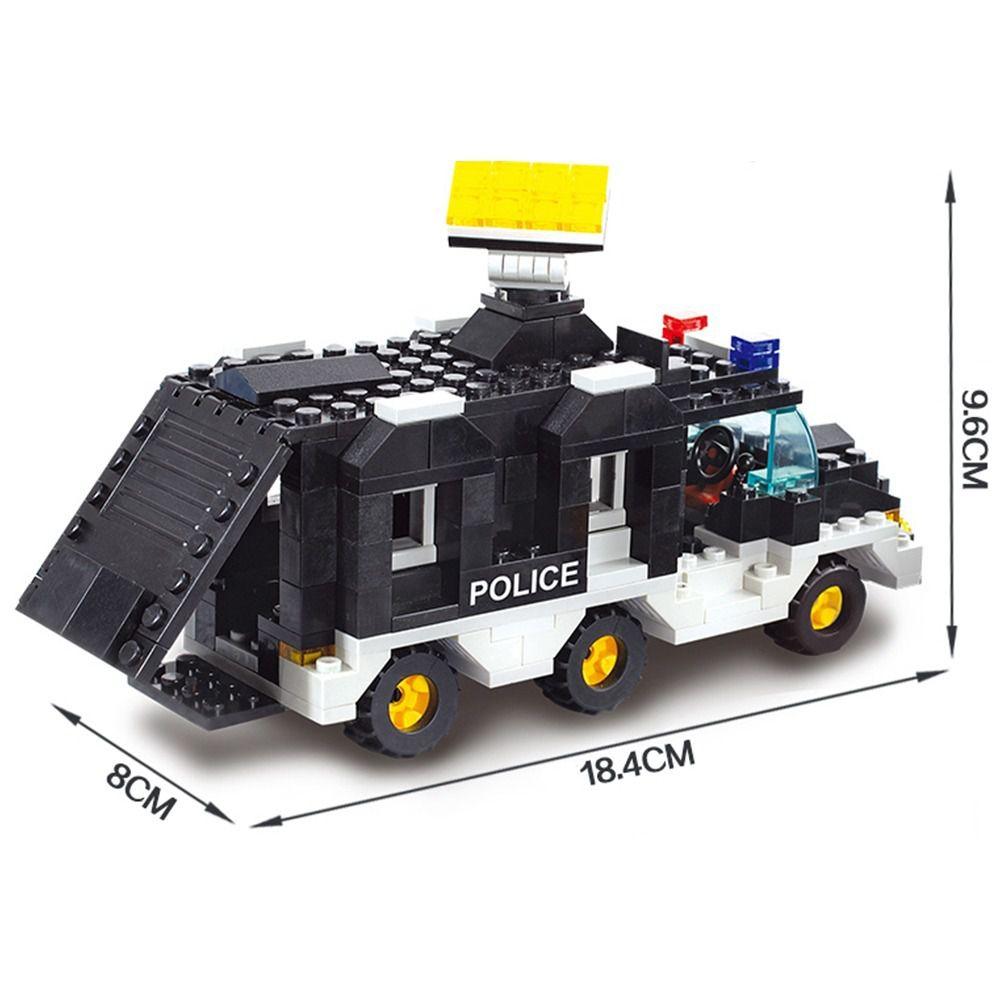 Blocos de Montar Polícia Força Tática - 499 Peças - Multikids