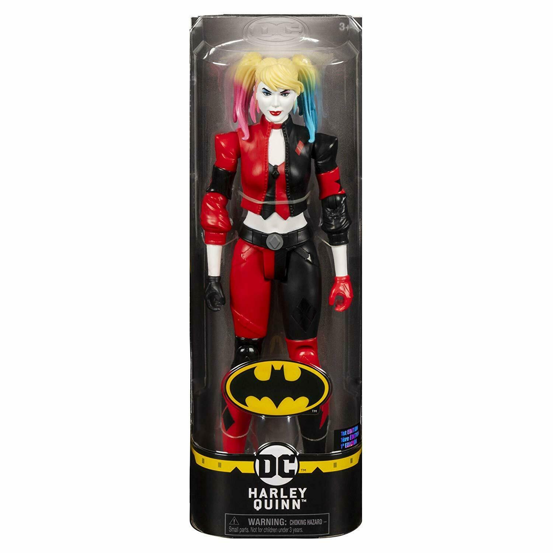 Boneca 28 cm Batman Dc Harley Quinn  - Spin Master
