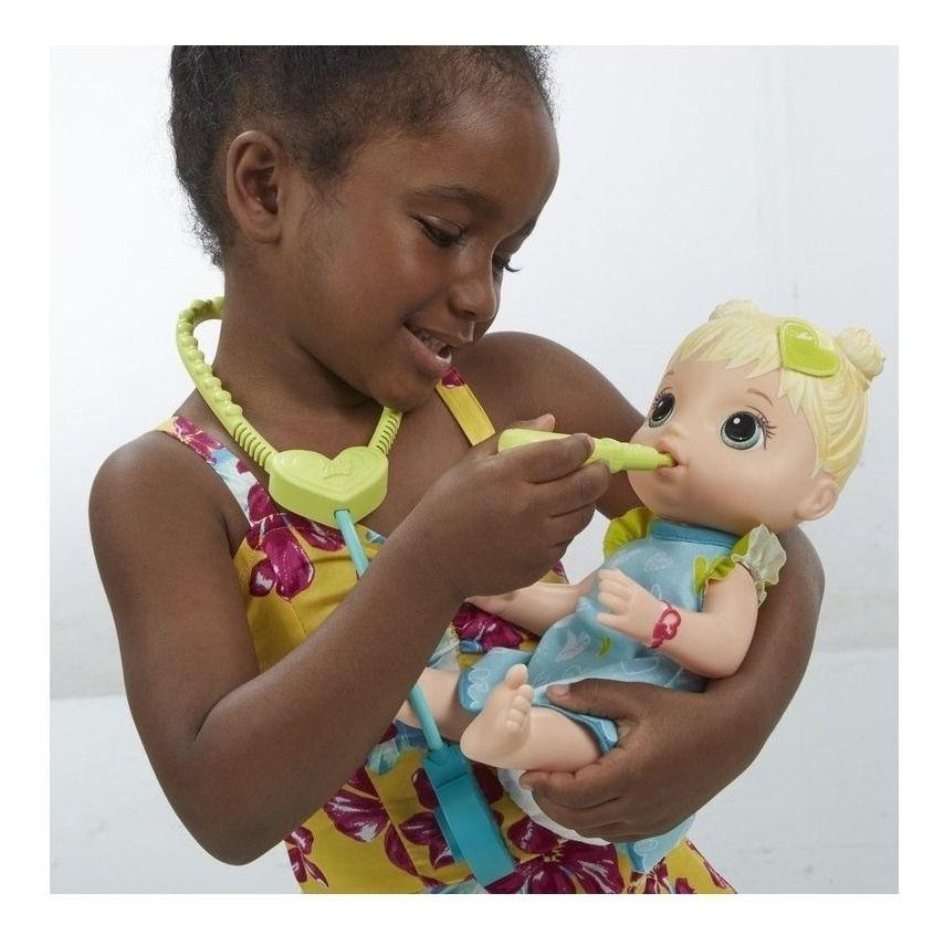 Boneca Baby Alive Loira - Cuida De Mim - Hasbro Original E5834