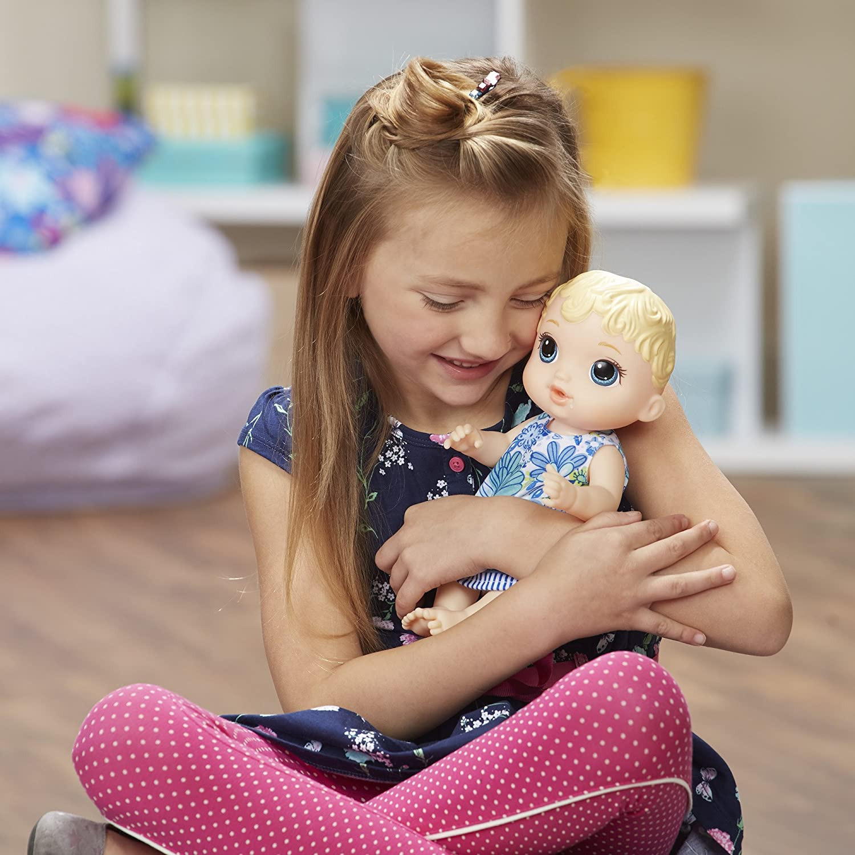 Boneca Baby Alive  - Hora do Xixi - Loira - Hasbro Original