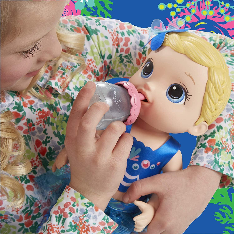 Boneca Baby Alive Linda Sereia Loira - Hasbro Original E3693