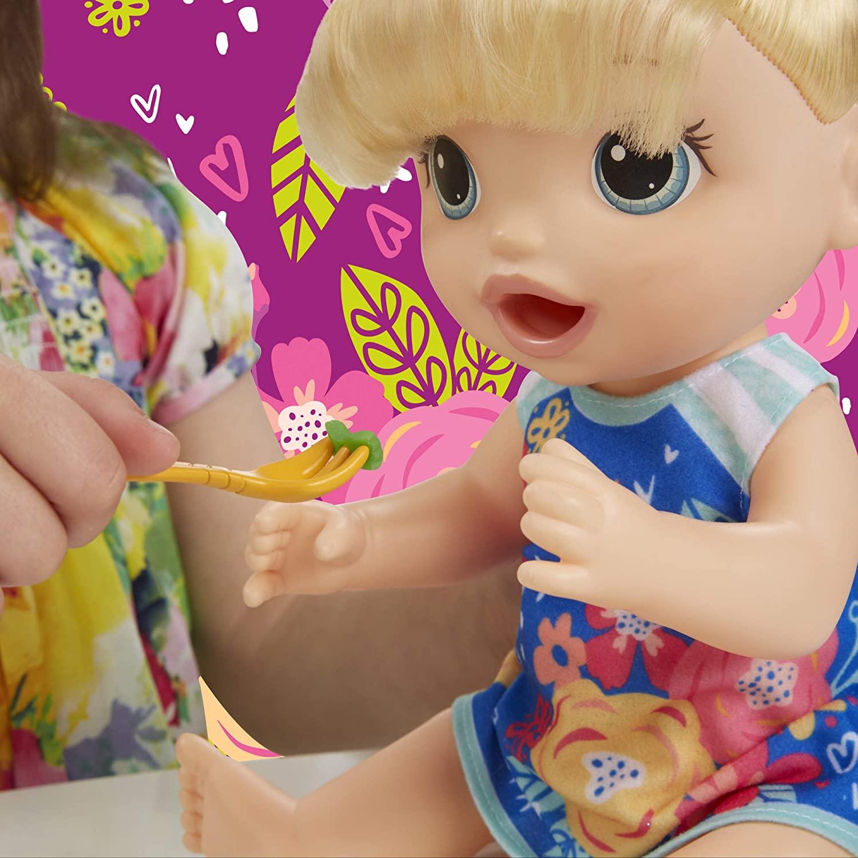 Boneca Baby Alive Loira - Festa Das Massas - Hasbro Original
