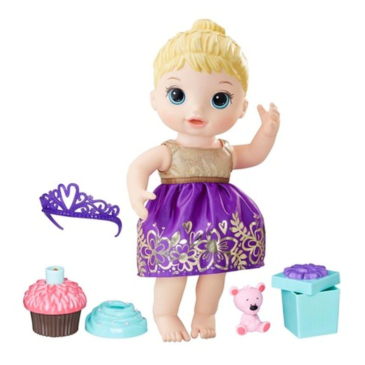Boneca Baby Alive Loira - Festa Surpresa - Hasbro Original