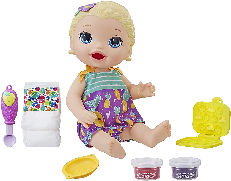 Boneca Baby Alive Loira - Lanchinhos Divertidos - Hasbro