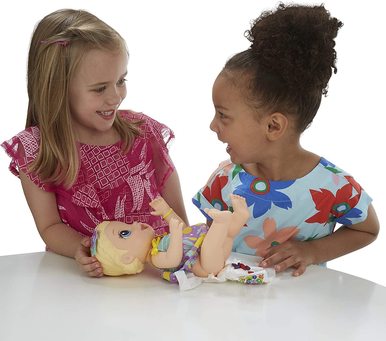 Boneca Baby Alive Loira - Lanchinhos Divertidos - Hasbro  - Japa Colecionáveis