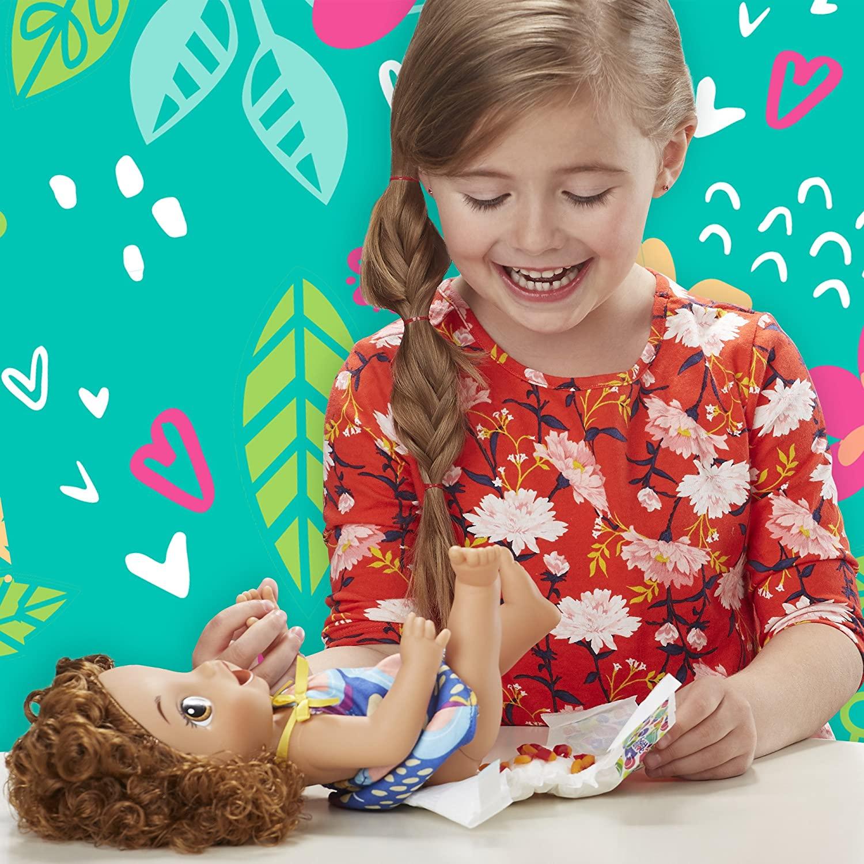 Boneca Baby Alive Morena - Meu Forninho - Hasbro Original