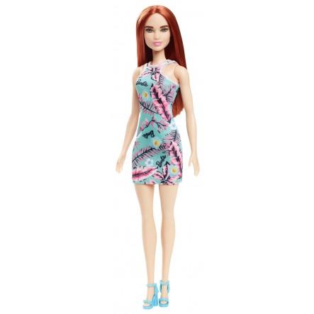Boneca Barbie da Moda Ruiva - Flower Dresses - Mattel GBK92