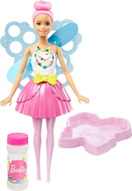 Boneca Barbie Dreamtopia - Fada Bolhas Mágicas - Mattel
