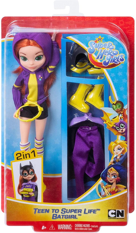 Boneca Dc Batgirl 2 em 1 - Super Hero Girls - Mattel