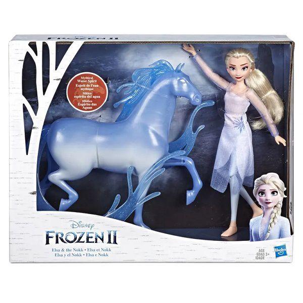 Boneca Disney Frozen 2 - Elsa e Nokk - Hasbro Original E5516