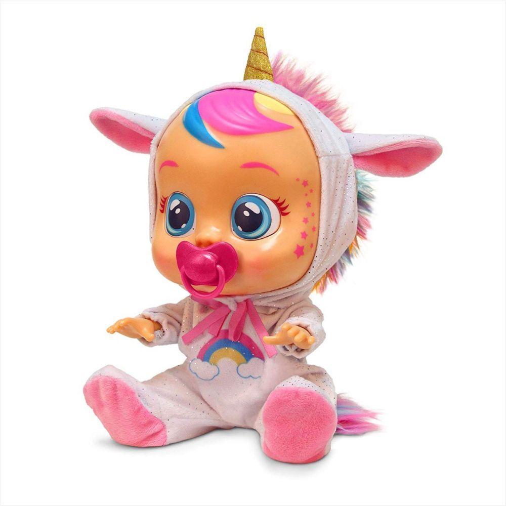Boneca Dreamy Chora Lágrimas de Verdade  - Cry Babies - Multikids