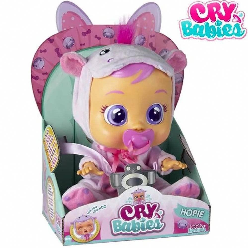 Boneca Hopie Chora Lágrimas de Verdade  - Cry Babies - Multikids