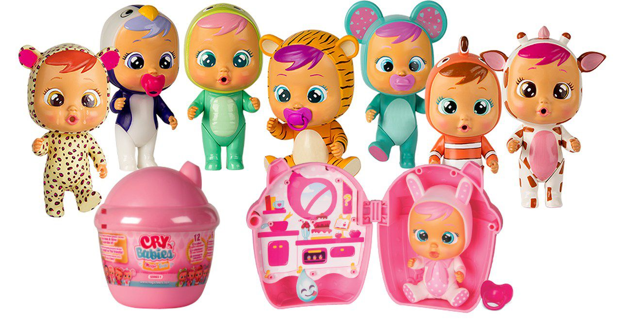 Boneca Mini Cry Babies - Magic Tears - Surpresa 1 unidade