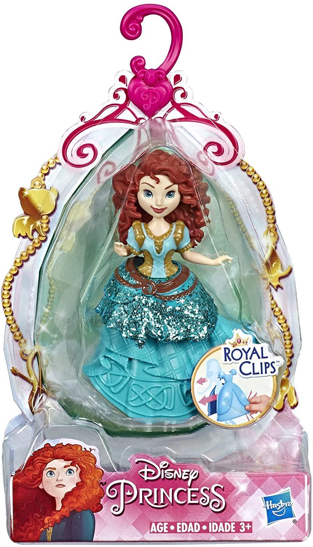 Boneca Mini Princesa Mérida - Royal Clips - Hasbro E3049