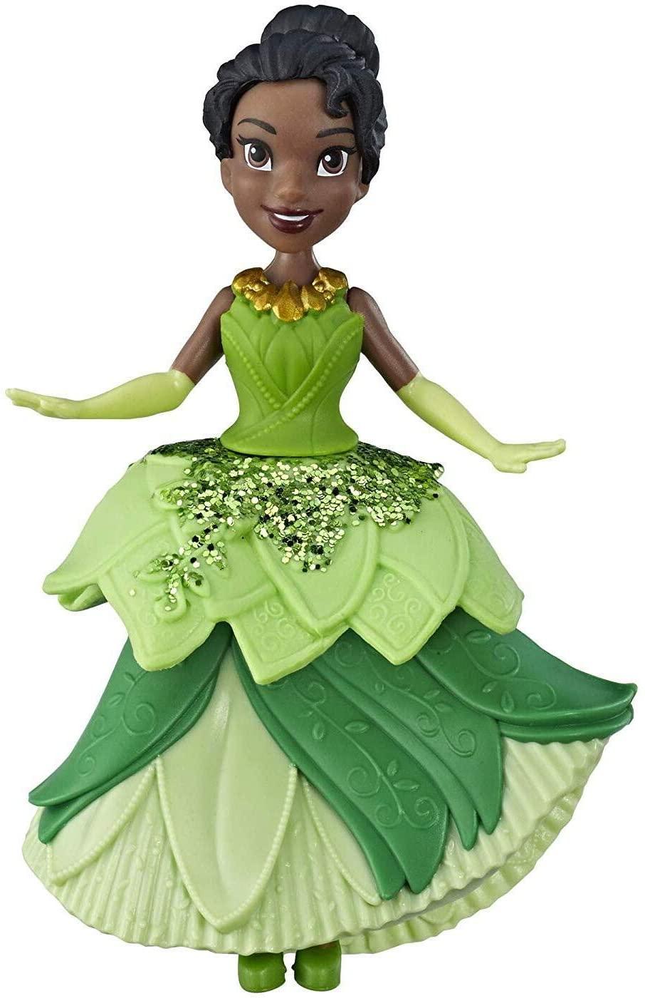 Boneca Mini Princesa Tiana - Royal Clips - Hasbro E3049