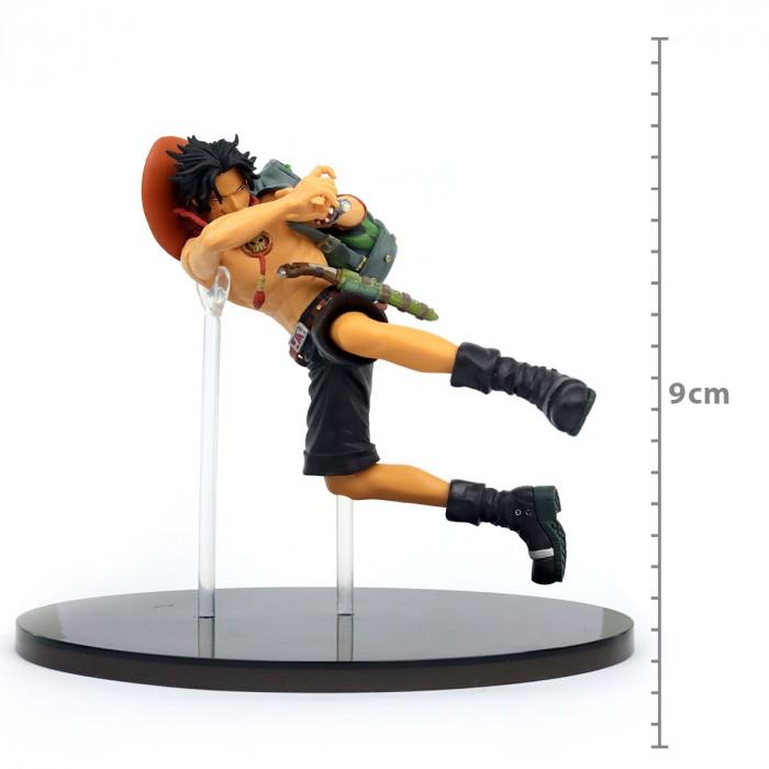Boneco Portgas D Ace 9cm - One Piece - Colosseum Banpresto