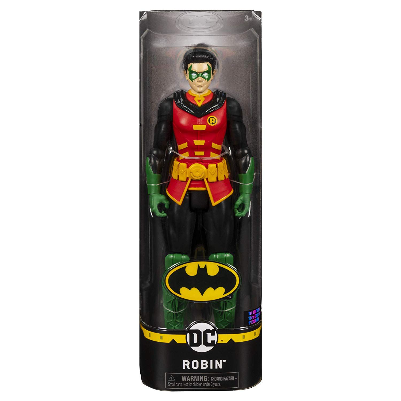Boneco 28 cm Batman Dc ( Robin)  - Spin Master