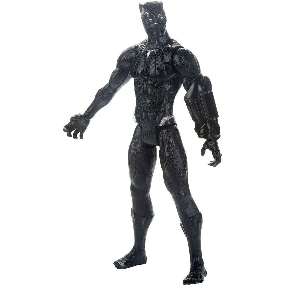 Boneco Black Panther - Marvel Avengers Titan Hero Series - Hasbro E5875
