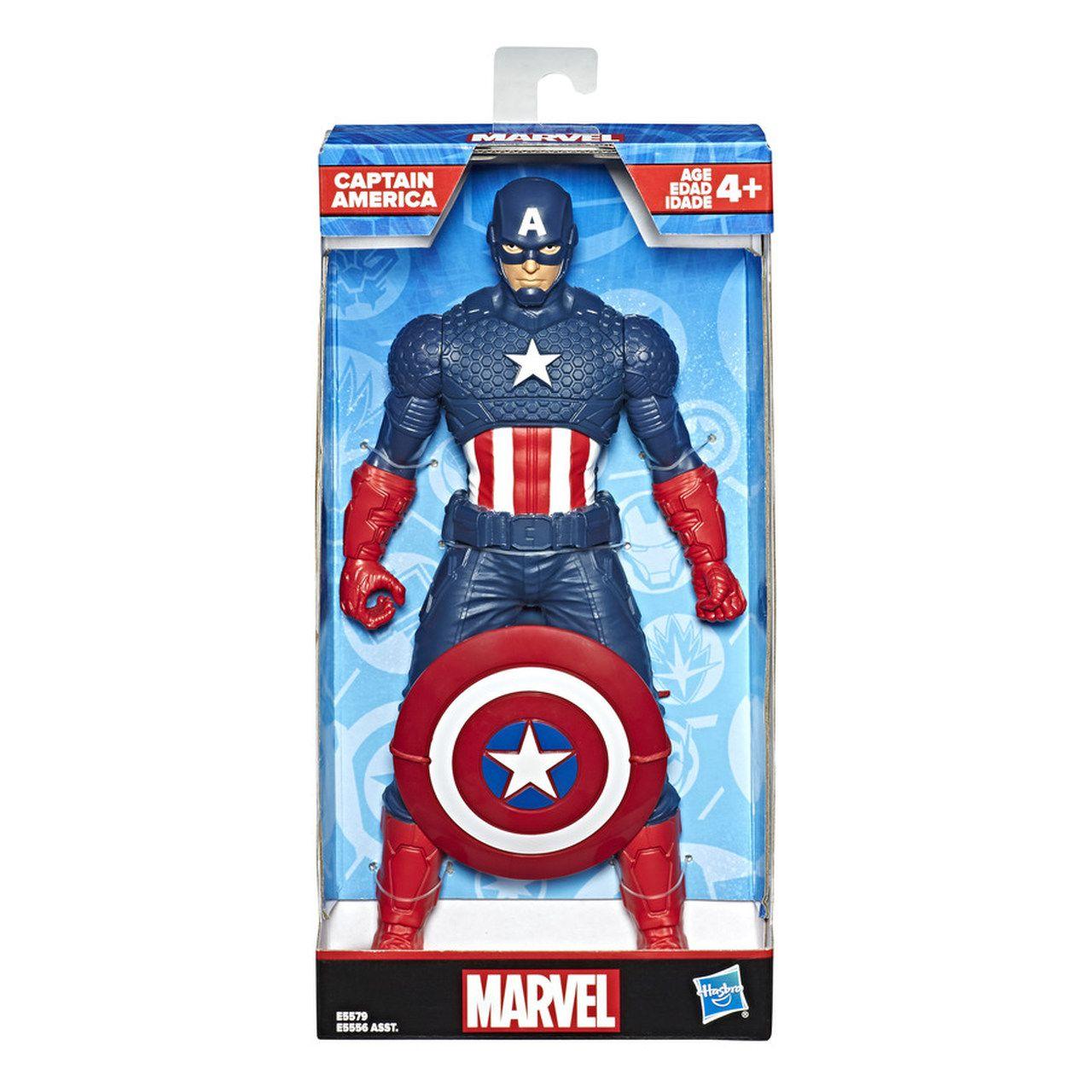 Boneco Capitão America - Marvel - 25 cm - Original Hasbro