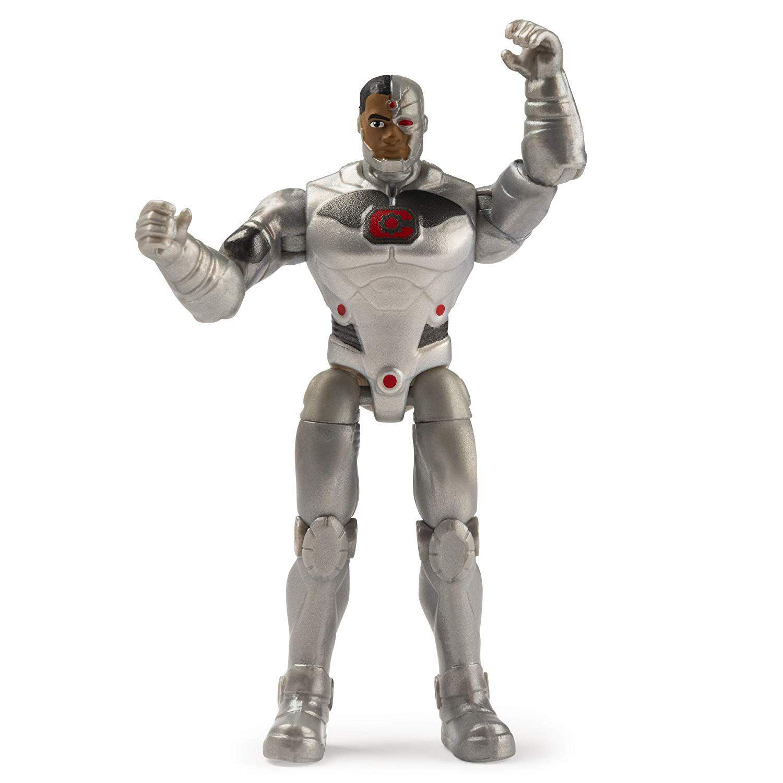 Boneco Cyborg - DC 3 Acessorios Misteriosos - Spin Master