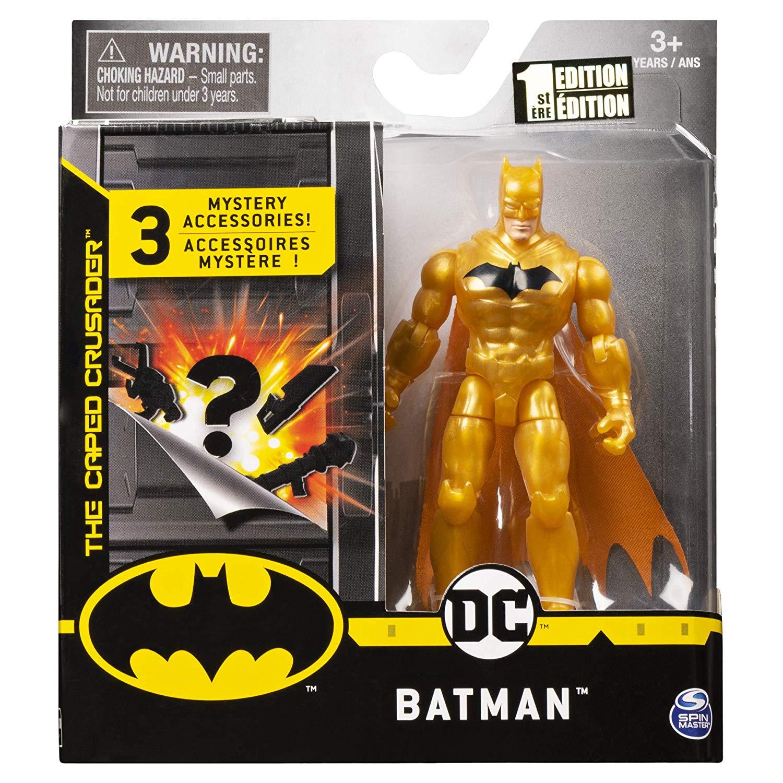 Boneco Defender Batman - DC 3 Acessorios  - Spin Master
