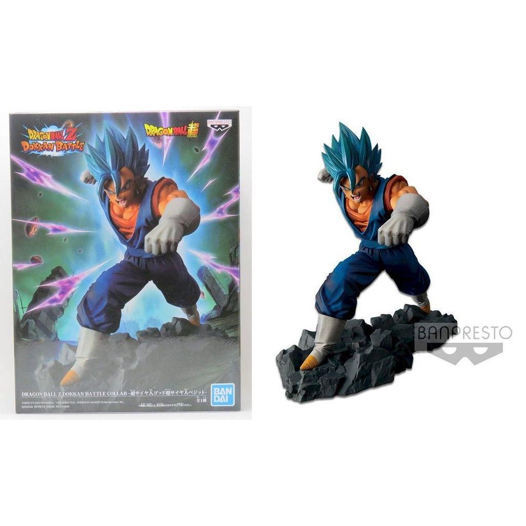 Boneco Dragon Ball - Vegetto God Super Saiyajin - Banpresto