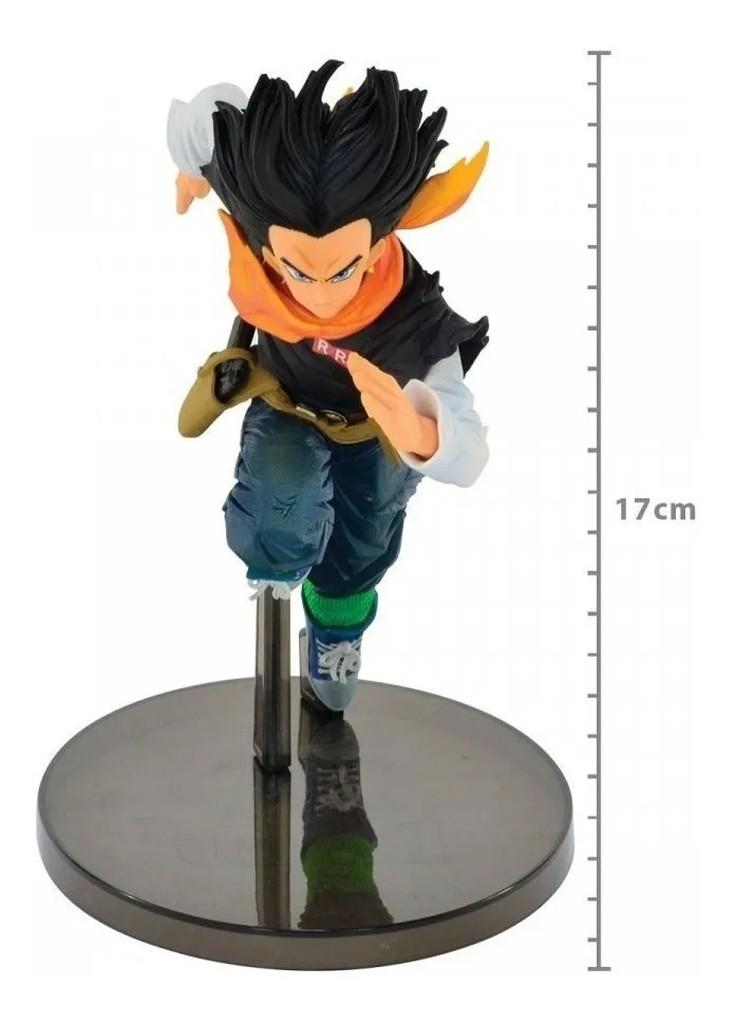 Boneco Dragon Ball Z - Figura Android 17 - 17cm Banpresto