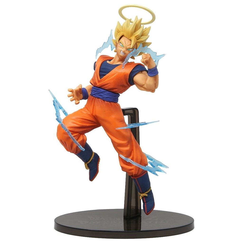 Boneco Dragon Ball Z - Goku 15cm - Super Saiyan 2 - Bandai