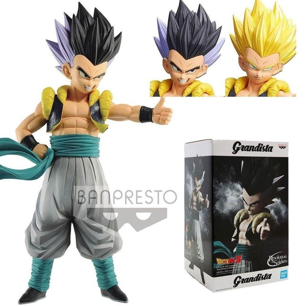 Boneco Dragon Ball Z - Gotenks Grandista 26cm - Banpresto