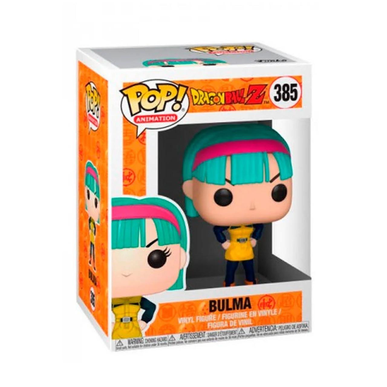 Boneco Funko Pop - Bulma 385 - Dragon Ball Z - Original