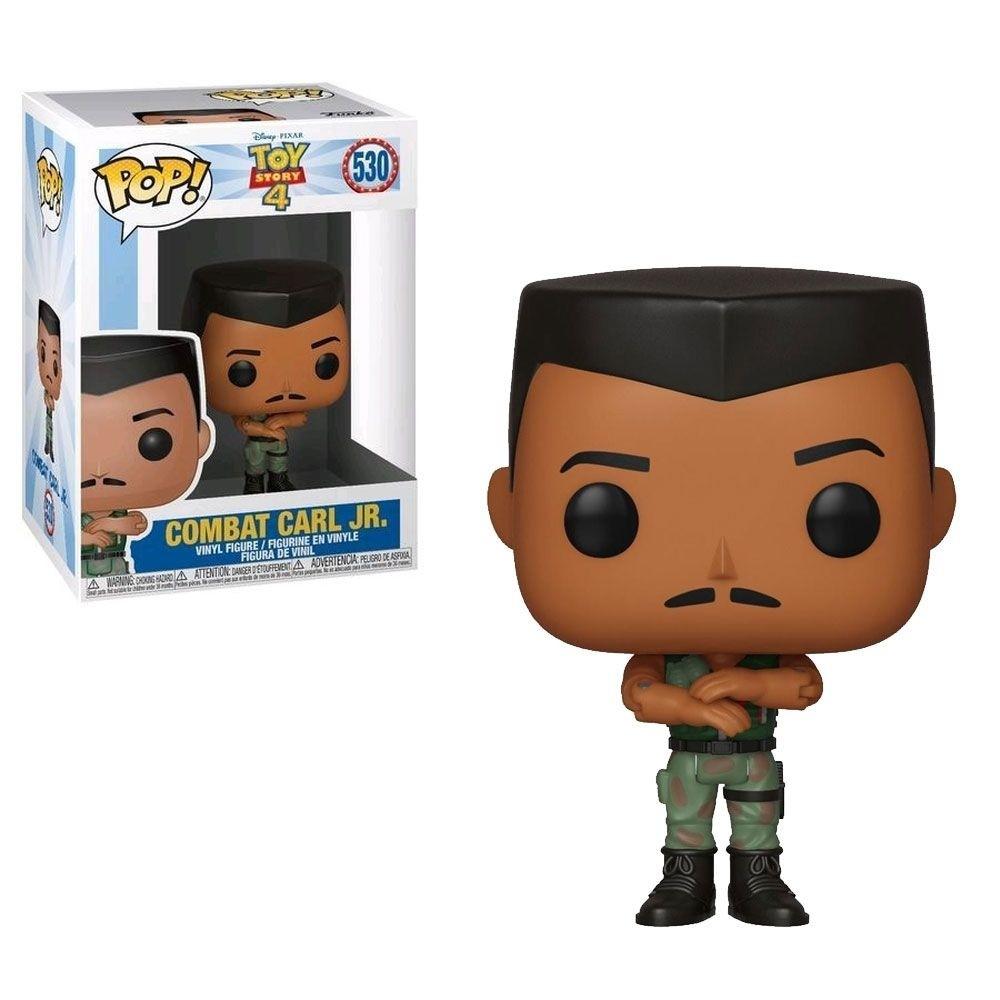 Boneco Funko Pop - Combat Carl Jr 530 - Toy Story 4 Original