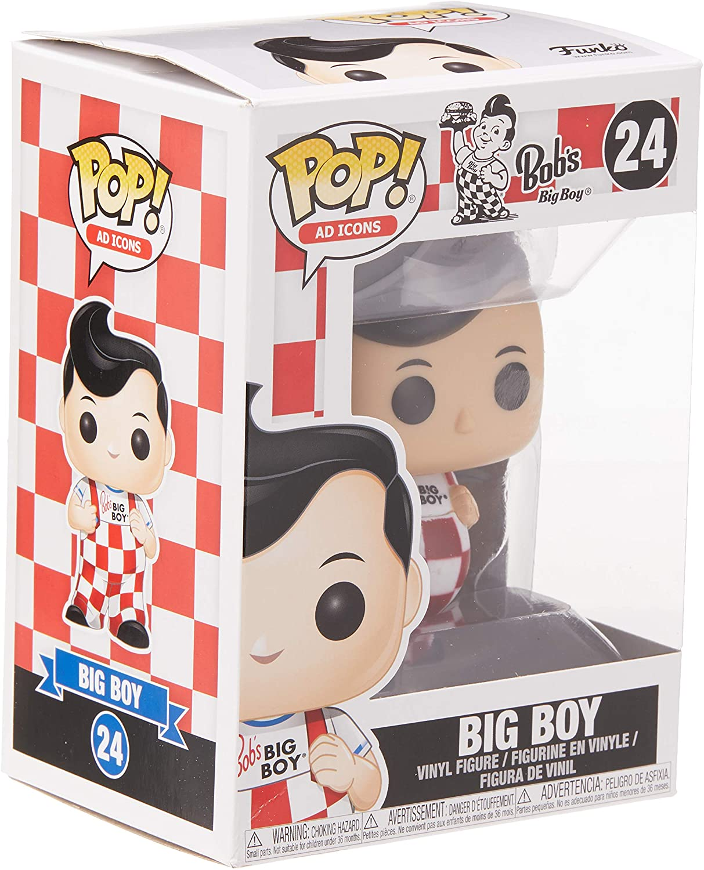 Boneco Funko Pop - Figura Big Boy 24 - Bob's  - Original