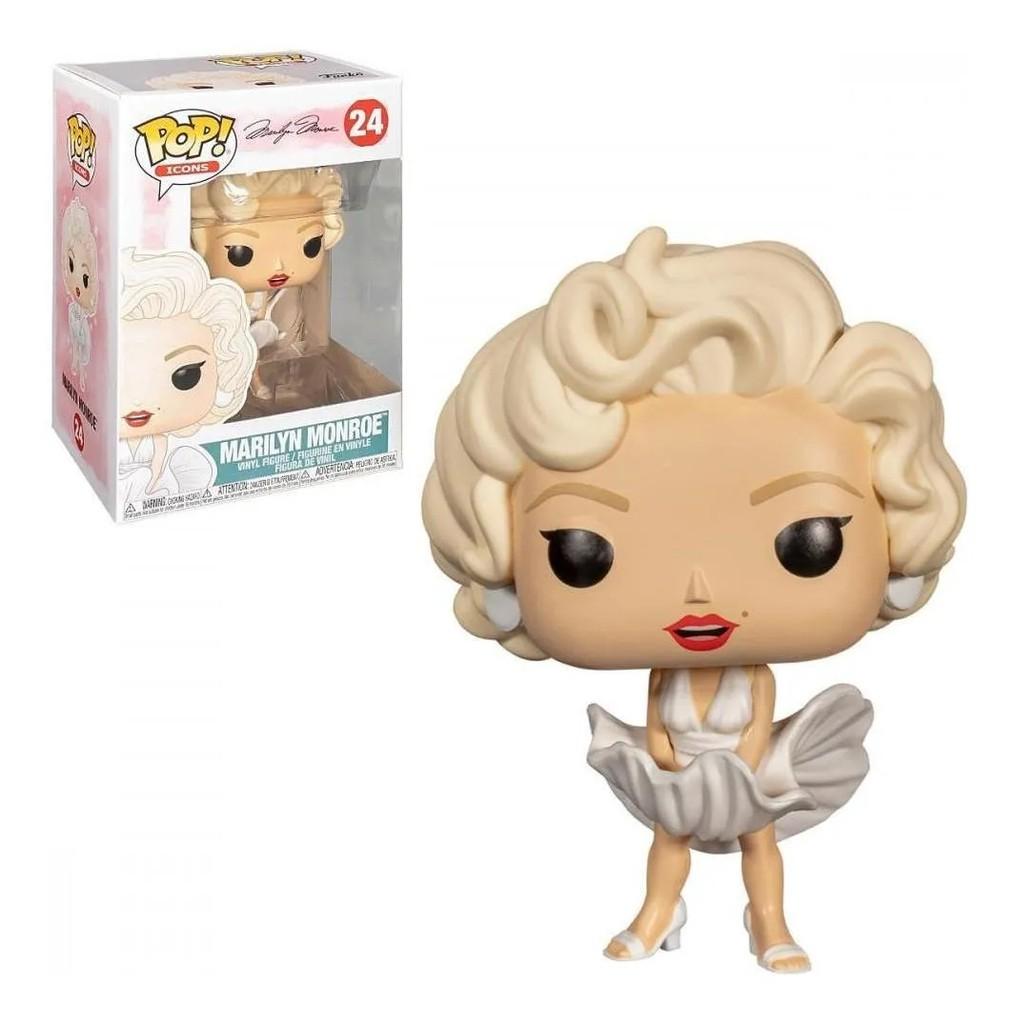 Boneco Funko Pop - Marilyn Monroe 24 - Celebridade Original