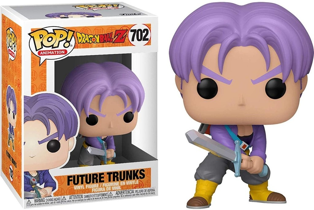 Boneco Funko Pop - Future Trunks 702 Dragon Ball Z Original