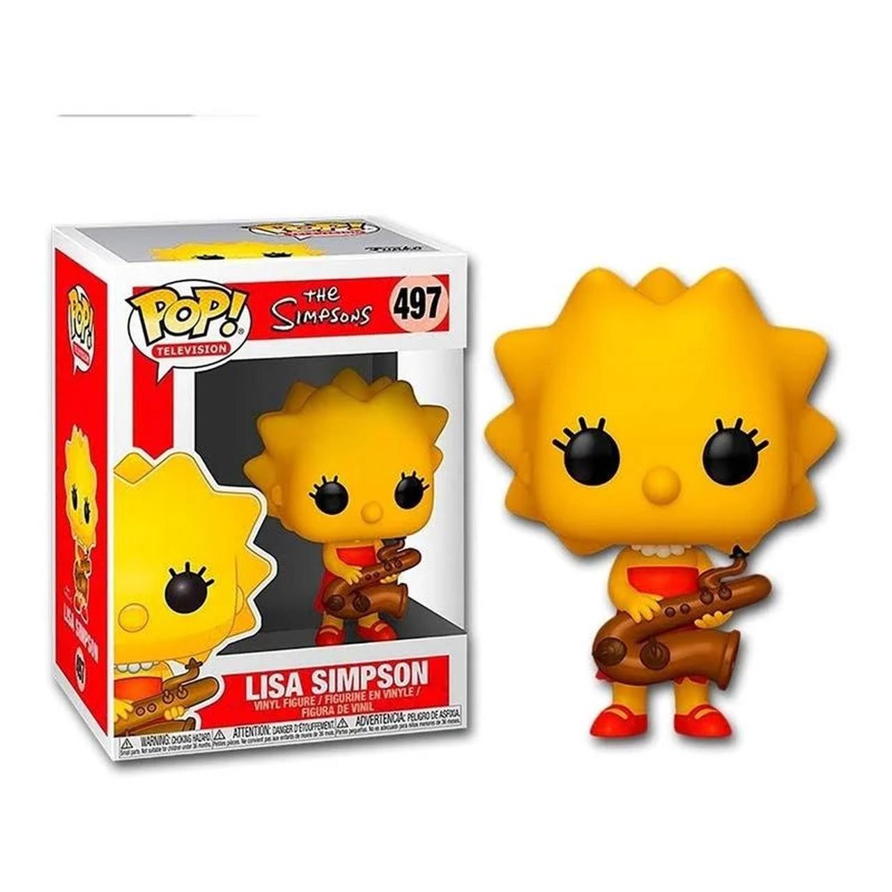 Boneco Funko Pop - Lisa Simpsons 497 - The Simpson Original