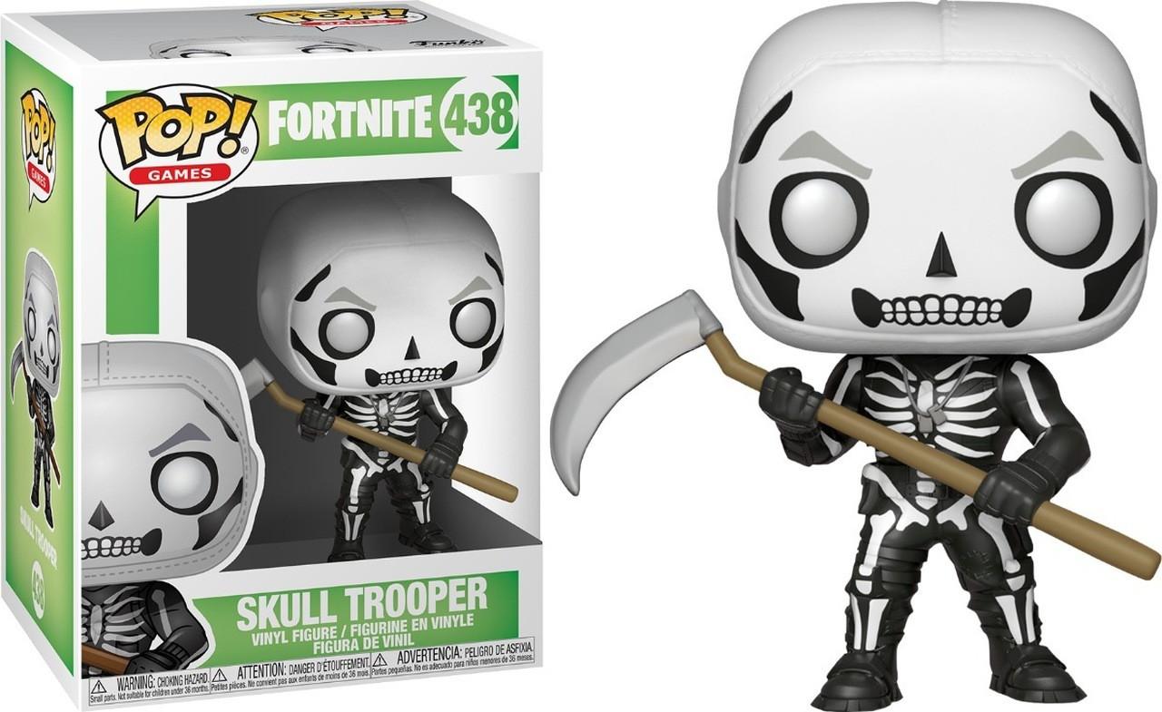 Boneco Funko Pop - Skull Trooper 438 - Fortnite - Original