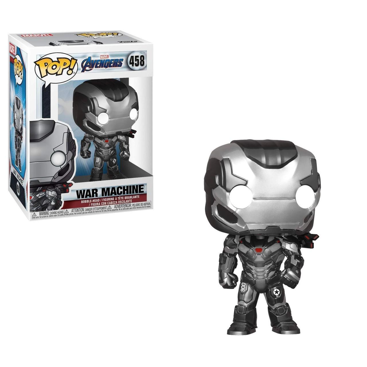 Boneco Funko Pop War Machine 458 - Vingadores Endgame Marvel