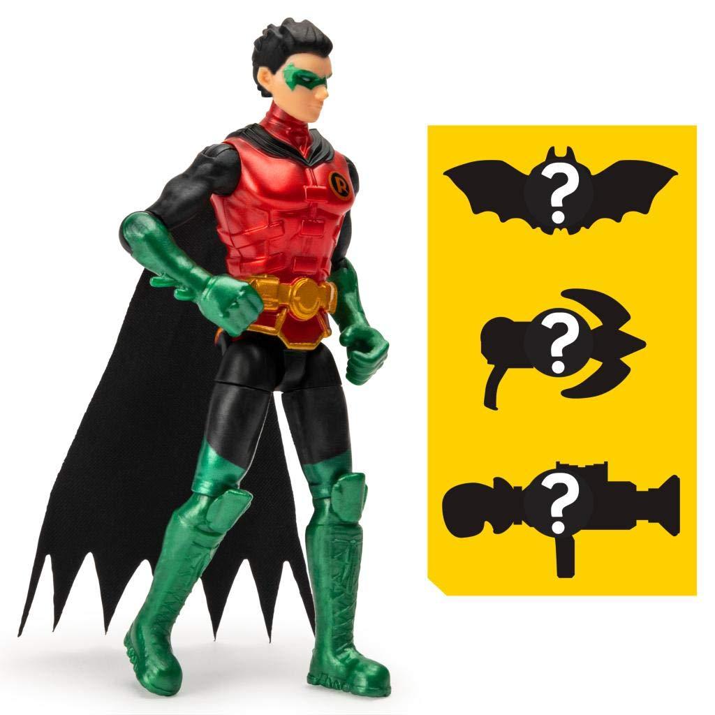 Boneco Guardian Robin  - DC 3 Acessorios Misteriosos - Spin Master