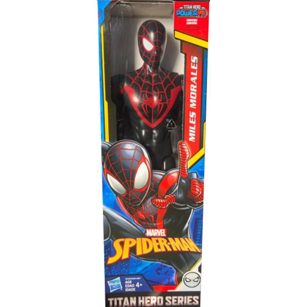 Boneco Homem Aranha Miles Morales - Power Fx Titan Hero - Hasbro E2346/2324