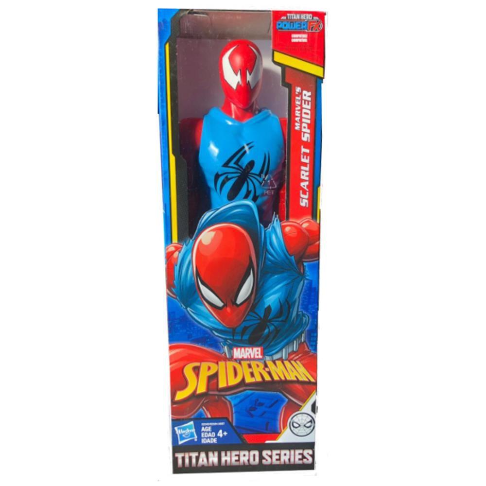 Boneco Homem Aranha Scarlet Spider - Power Fx Titan Hero - Hasbro E2342/2324