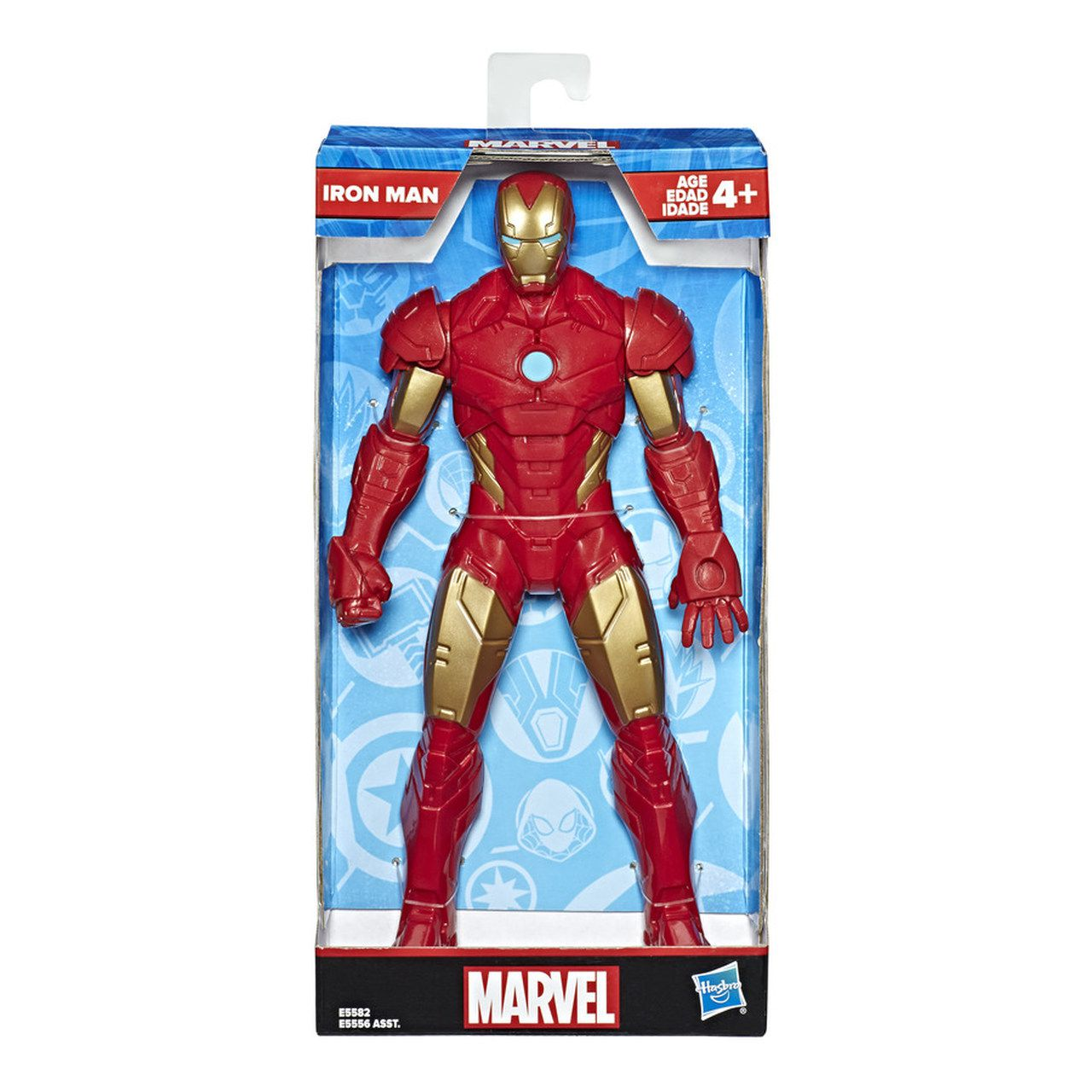 Boneco Homem de Ferro - Marvel - 25 cm - Original Hasbro