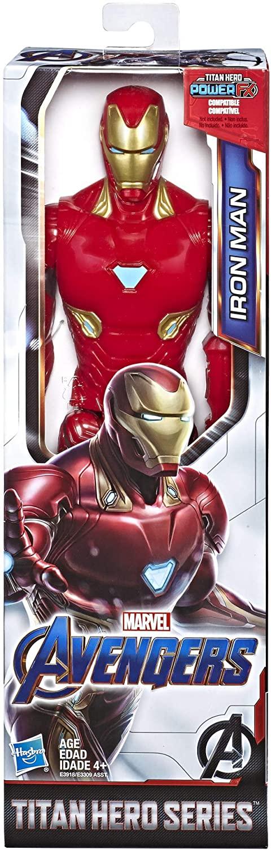 Boneco Iron Man - Homem de Ferro Vingadores 30 cm - Hasbro