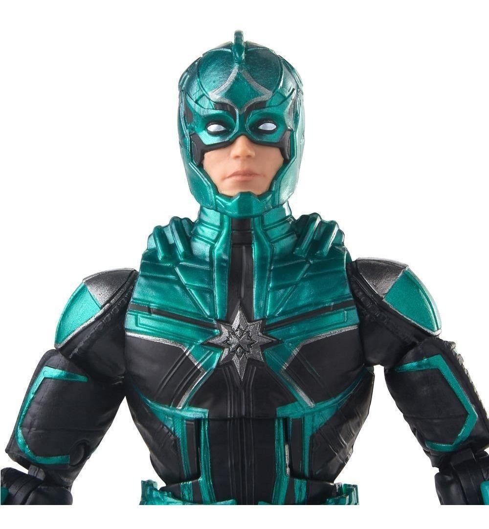 Boneco Marvel Legends  - Captain Marvel - Yon Rogg - Hasbro  - Japa Colecionáveis
