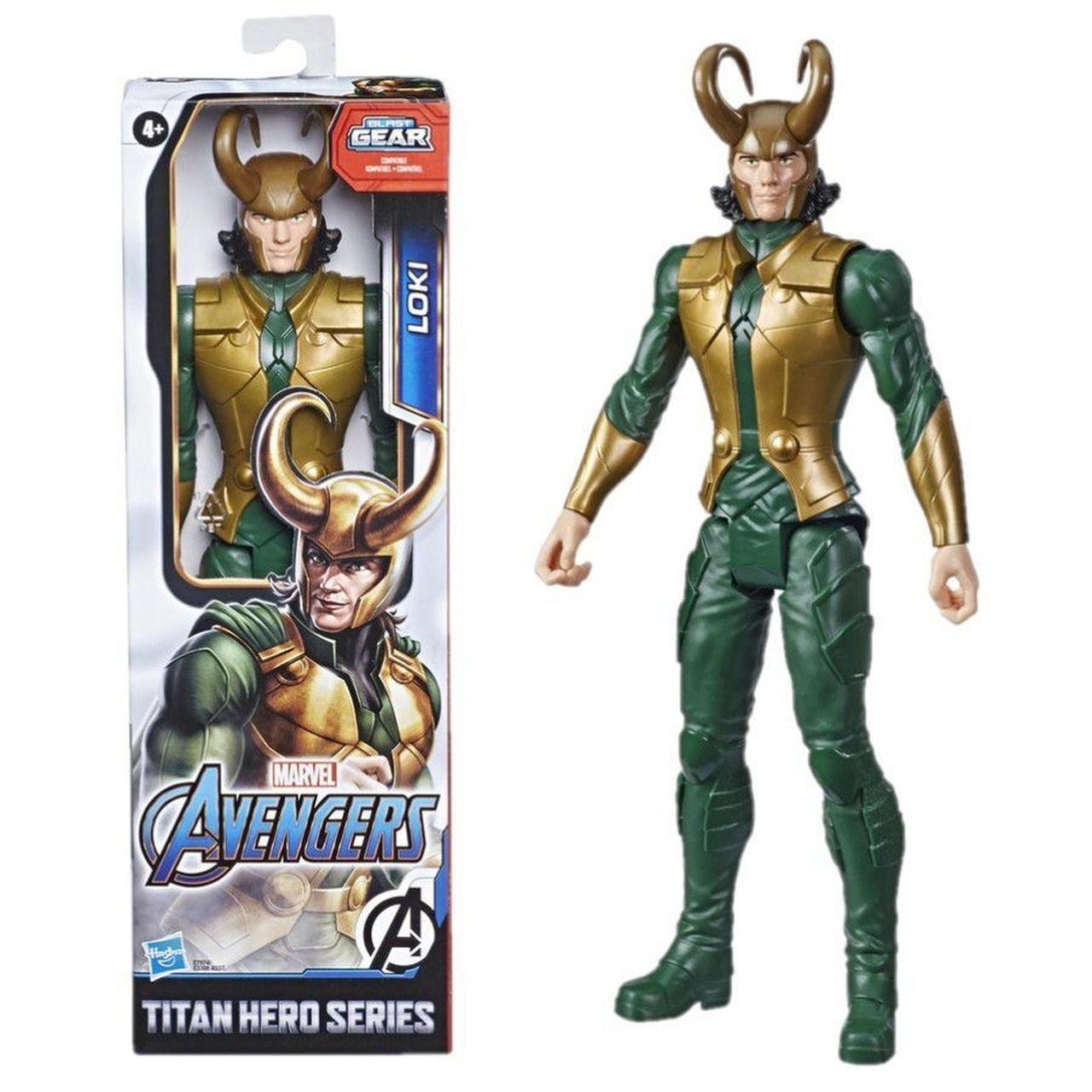 Boneco Loki - Marvel Avengers Hero Series - 30 cm - Hasbro