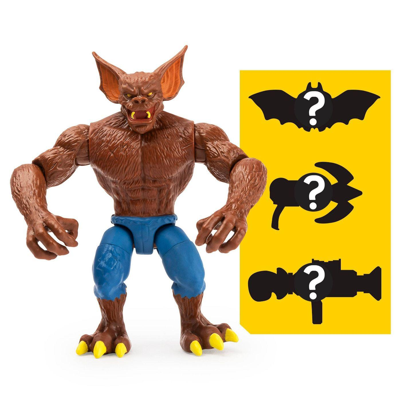 Boneco Man-bat - DC 3 Acessorios Misteriosos - Spin Master