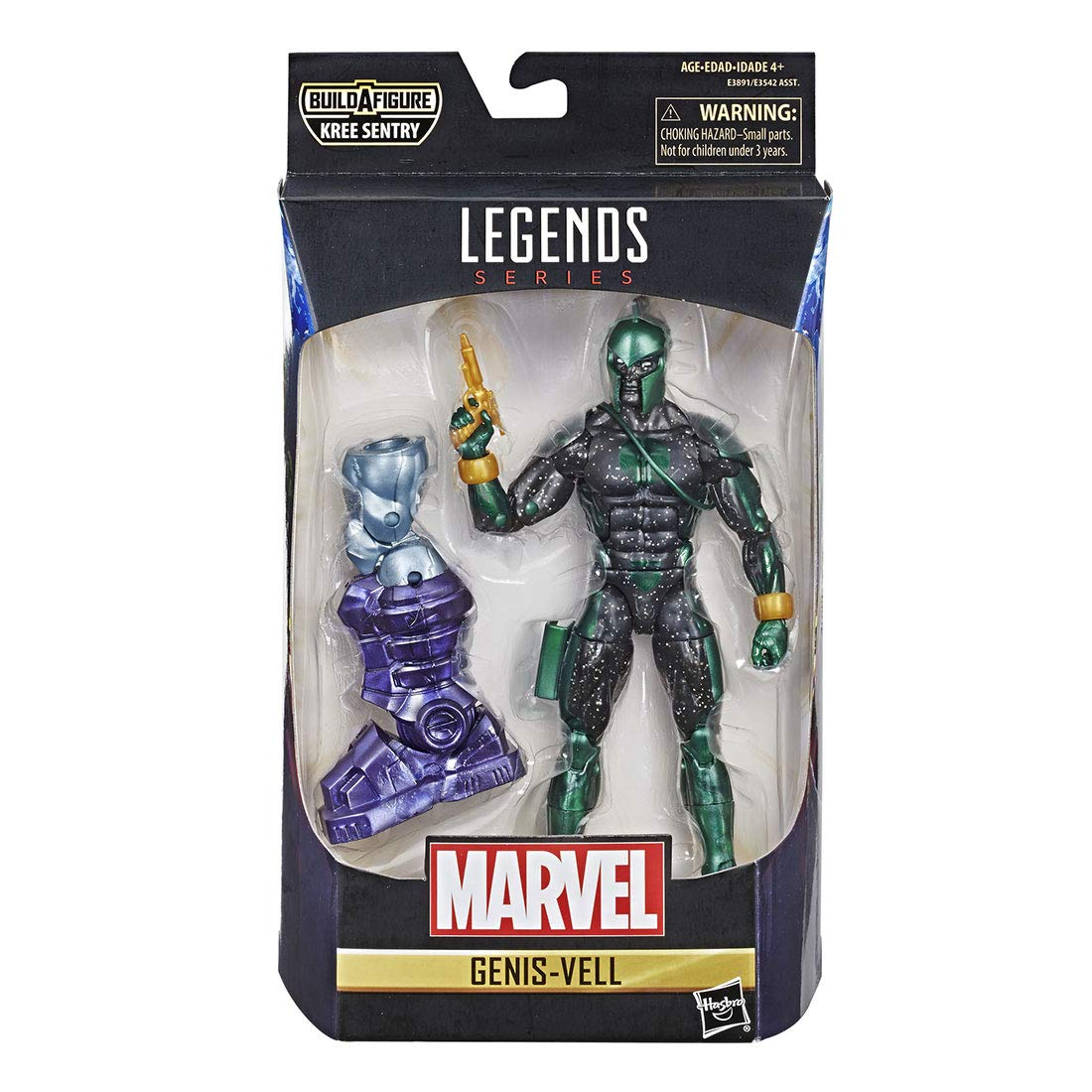Boneco Marvel Legends Genis-Vell  -  Hasbro E3542