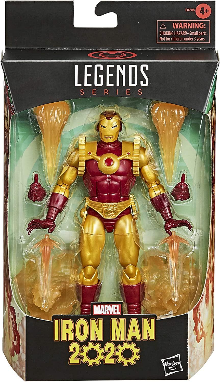 Boneco Marvel Legends - Figura Iron Man 2020 - Hasbro E8708